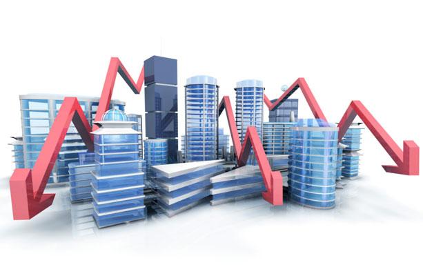 baisse prix l'immobilier
